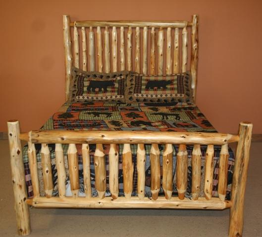Cedar Log Baby Crib Nursery