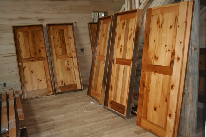 Gentil Barn Wood Interior Door Finished