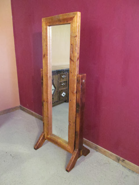 Barn Wood Full Length Floor Mirror Barn Wood Furniture Rustic