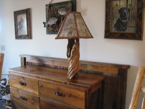 Birch bark lamp shade barn wood furniture rustic barnwood and birch bark lamp shade mozeypictures Gallery
