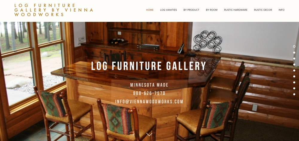 Our Log Furniture Gallery