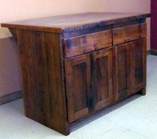 Reclaimed Wood Kitchen Cabinets: Reclaimed Barnwood Kitchen Cabinets