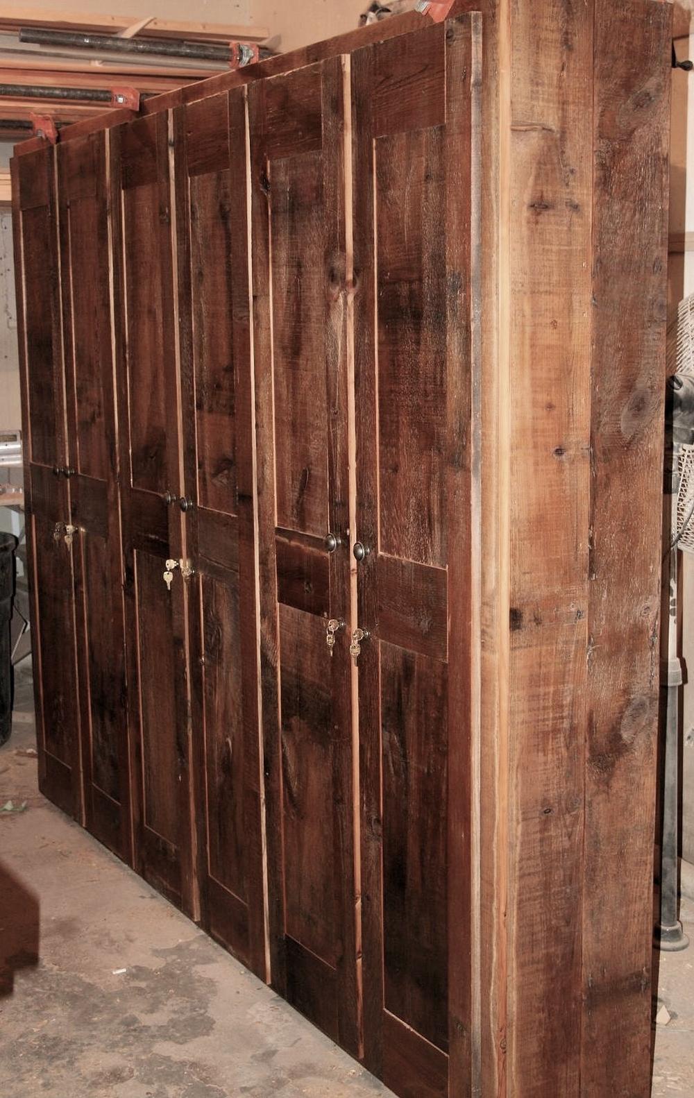 Reclaimed Barnwood Kitchen Cabinets Barn Wood Furniture