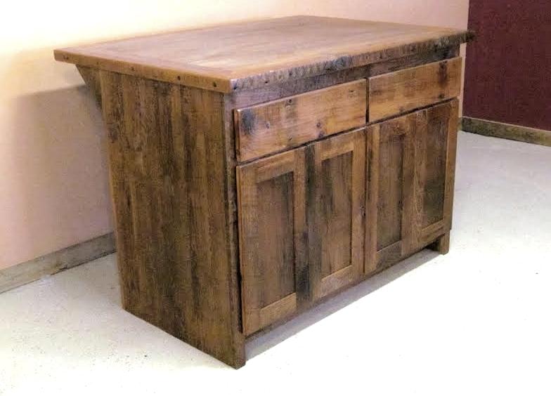 Barn Wood Kitchen Islands U2014 Barn Wood Furniture   Rustic Barnwood And Log  Furniture By Vienna Woodworks