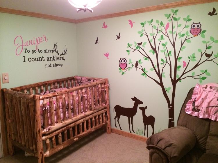 Log Baby Furniture and Childrens Log Furniture — Barn Wood Furniture ...