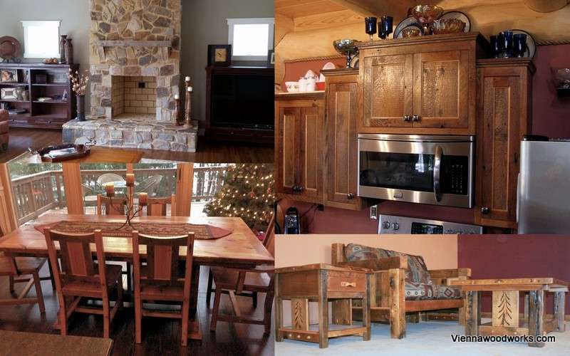 Product Catalog — Barn Wood Furniture - Rustic Barnwood and Log ...