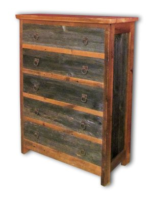 Wonderful Refined Gray Barnwood Dresser Chest — Barn Wood Furniture - Rustic  XH81