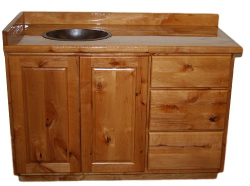 RUSTIC WOOD VANITIES -