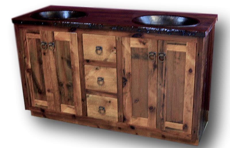 Attrayant Minnesota Heritage Barnwood Vanity U2014 Barn Wood Furniture   Rustic Barnwood  And Log Furniture By Vienna Woodworks