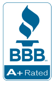 We have an A+ Rating at the Better Business Bureau! Always check company ratings before ordering online!