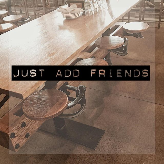 Break bread with people who feed your soul. . . . . #justadd #livethegoodlife #breakbread #justaddfriends