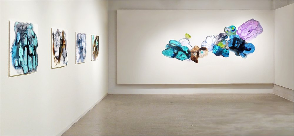 Exhibition of Flux Paintings, 2018