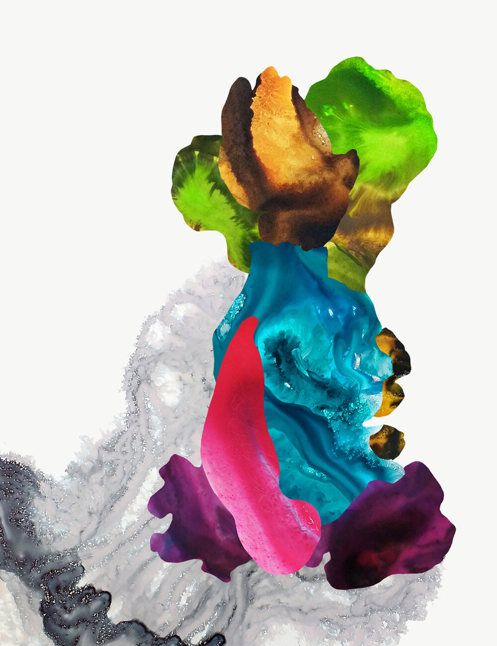 Painting - Fluere 7