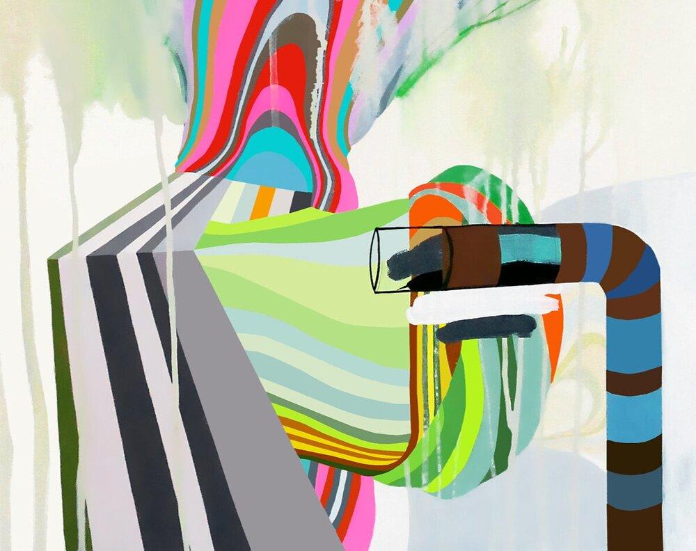 Painting - PLASMORA 17
