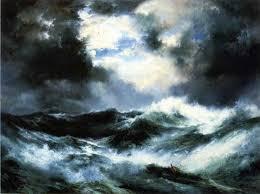 Wave- Ivan Aivazovsky, 1889