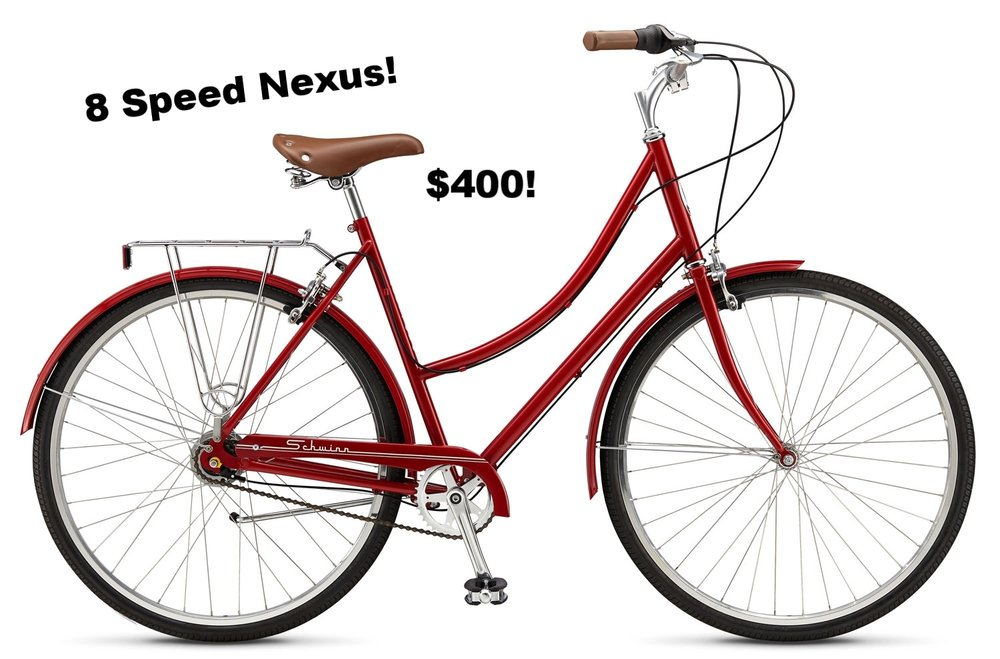 2016 Schwinn Allston.  PERFECT for cruisin' the Beltline in style. $550. Medium in stock.