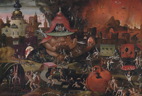 The Harrowing of Hell – Hieronymus Bosch