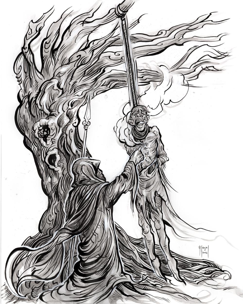 Havamal_Norse_Mythology_Book_verse_158