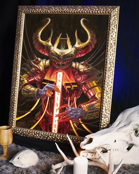 bragi_framed_viking_painting