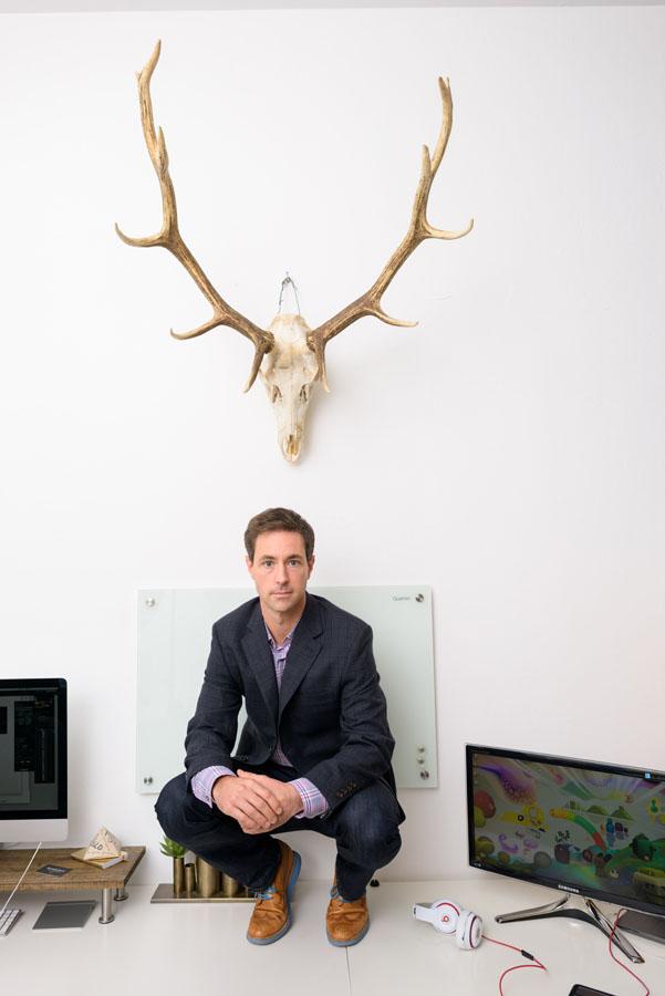 Creative business portrait