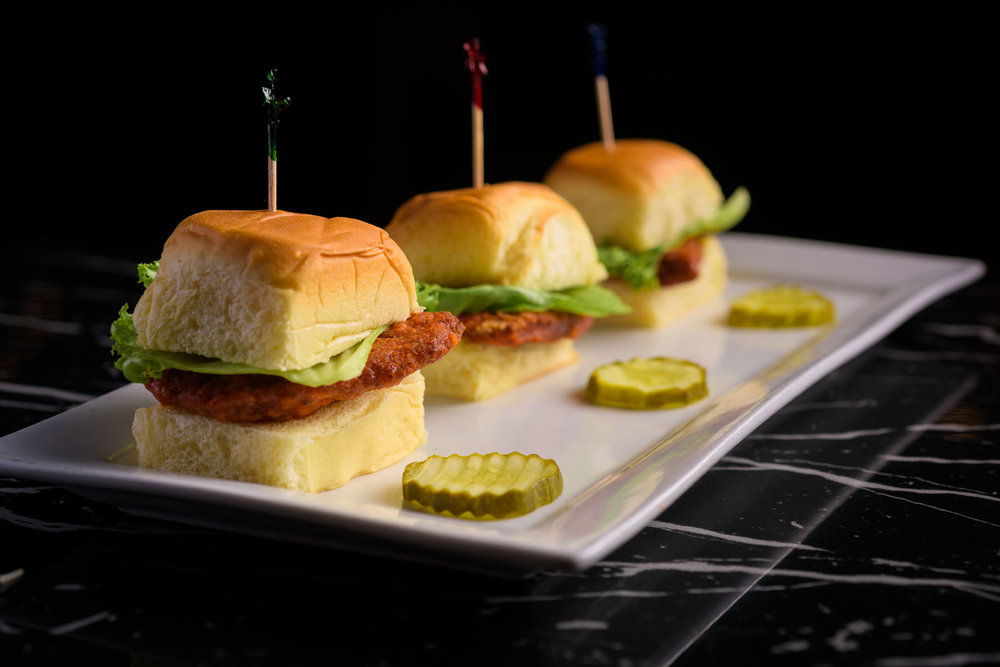 Sliders – Food Photos at Firehouse 37 restaurant in San Ramon - by Bay Area commercial photographer Chris Schmauch
