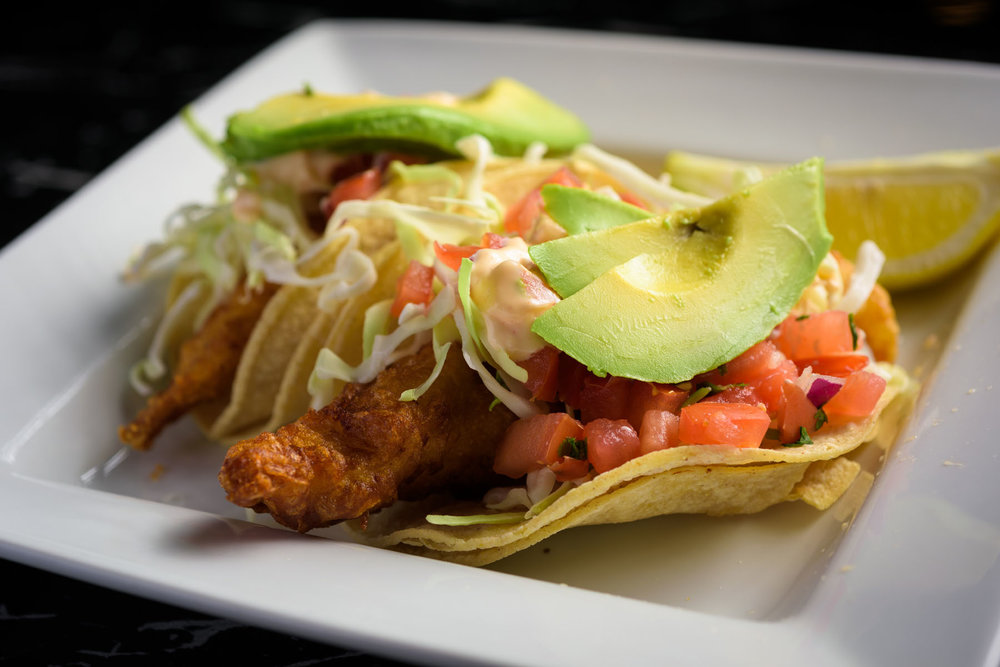 fish tacos – Food Photos at Firehouse 37 restaurant in San Ramon - by Bay Area commercial photographer Chris Schmauch