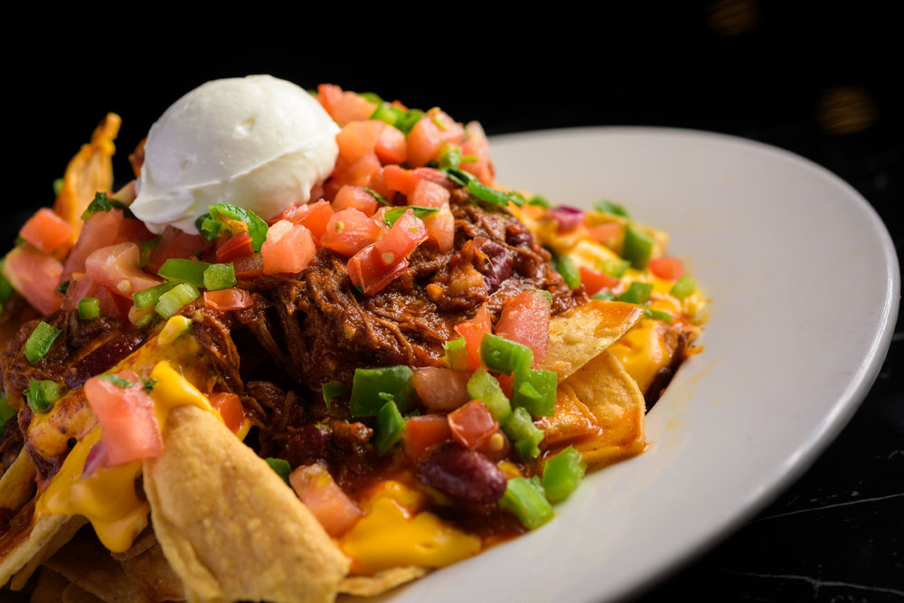 nachos – Food Photos at Firehouse 37 restaurant in San Ramon - by Bay Area commercial photographer Chris Schmauch