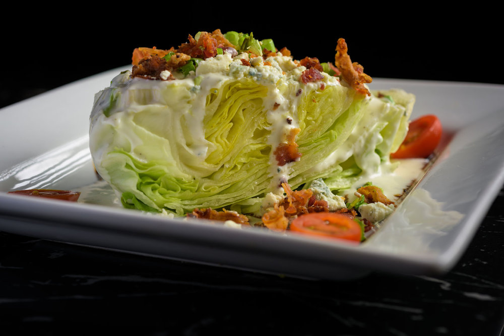 wedge salad – Food Photos at Firehouse 37 restaurant in San Ramon - by Bay Area commercial photographer Chris Schmauch