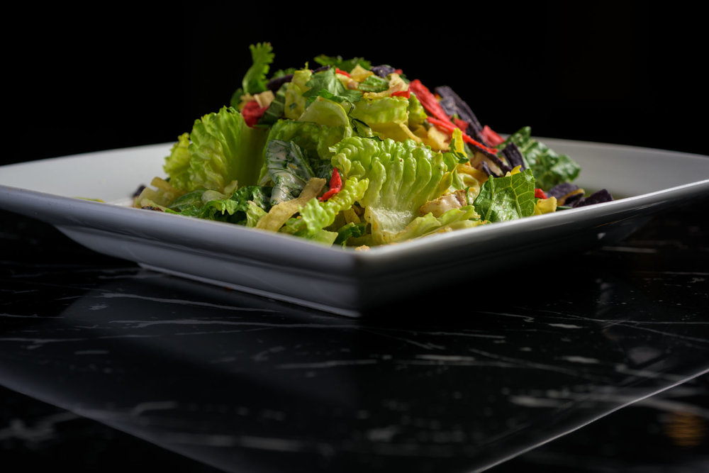 taco salad – Food Photos at Firehouse 37 restaurant in San Ramon - by Bay Area commercial photographer Chris Schmauch