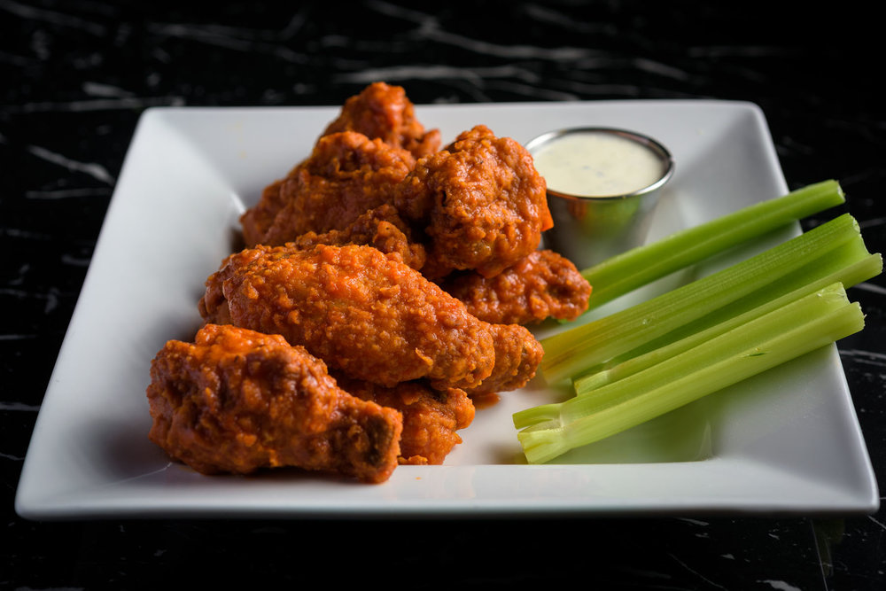 buffalo wings – Food Photos at Firehouse 37 restaurant in San Ramon - by Bay Area commercial photographer Chris Schmauch