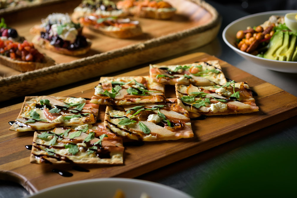 flatbread and other food – cupertino food photos at rootstock wine bar - photos by bay area commercial photographer chris schmauch