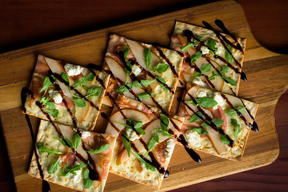 flatbread crispy things