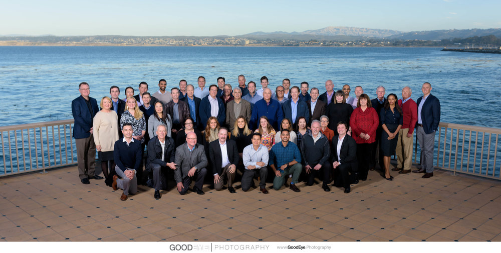 Monterey Plaza Corporate group portrait