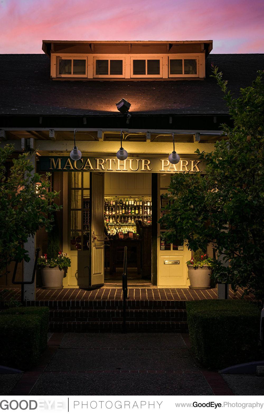 Palo Alto Restaurant Architecture Photography