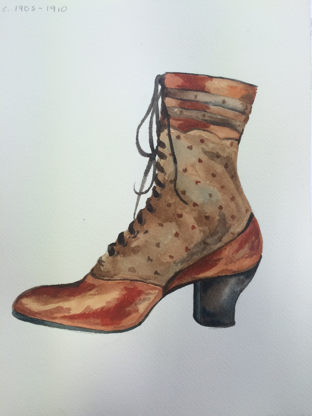 Shoes - Watercolor — Stuff By Sally