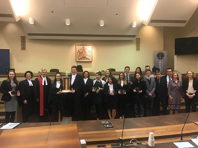 WINNERS of the GRAND FINAL!! Congratulations to our Mock Trial Team!!