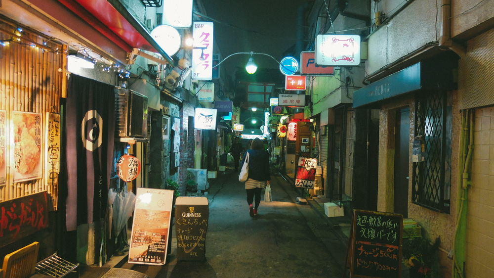 Ooo'd and Aww'd at the intimate bar life of the Golden Gai Cost: Free