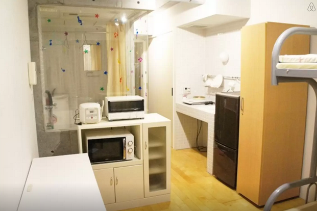 Furnished Apartment with bunk beds. $52 night / 5 minutes from Shibuya station