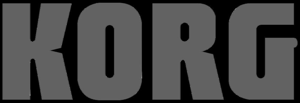 Korg Logo gray.png