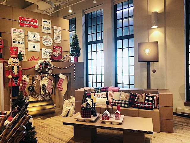 { A preview of @michaelsstores Santa's Workshop designed by @david_stark_design } lighting || sound