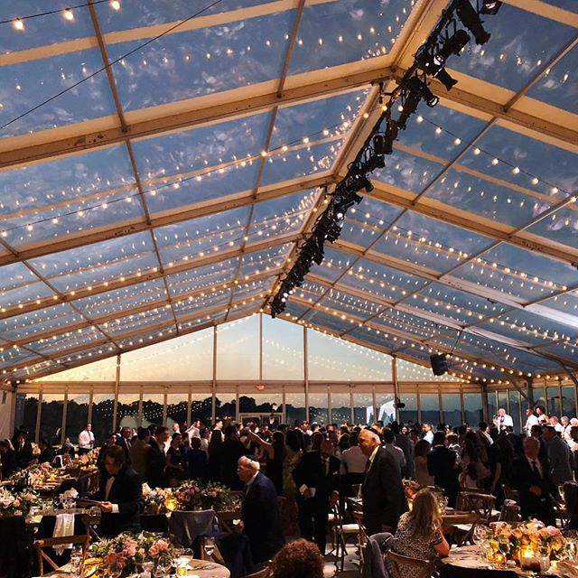 { Winding down summer with a truly beautiful Westhampton wedding } lighting || sound || tenting: @starrtent || entertainment: @valientertainment || decor: @swoop_ny || catering: @foremostramcaterers || RG: @starrtent