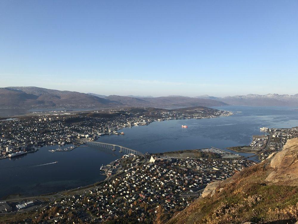 View of Tromsø from Storsteinen