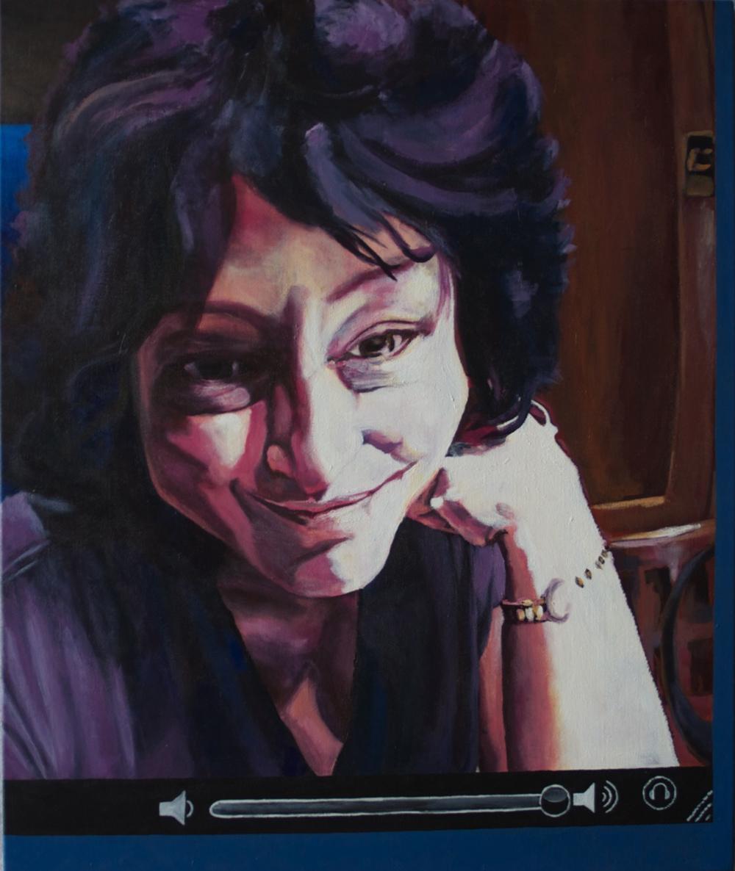 """""""Deborah,"""" 2010 - Acrylic, 30"""" x 36"""""""