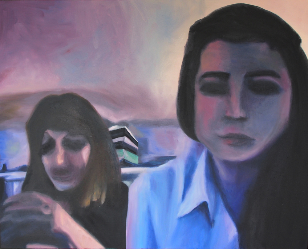 """Eliza and Candace,"" 2015 - Oil, 24"" x 30"""