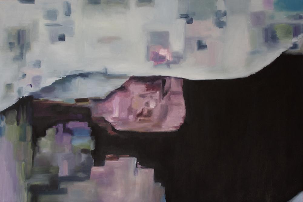 """Katrina,"" 2015 - Oil, 24"" x 36"""