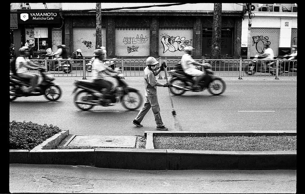 Ho Chi Minh Street Sweeper