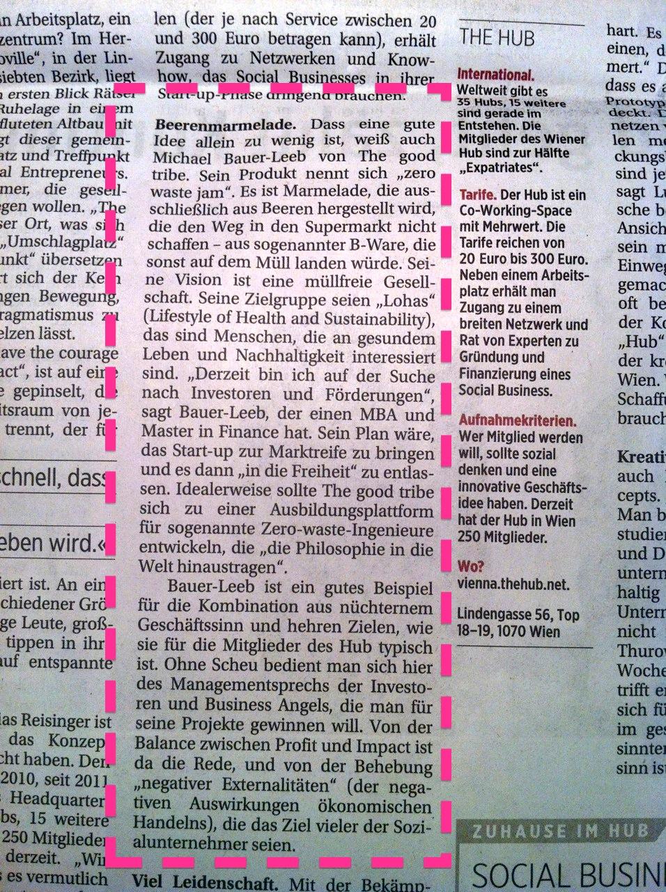 Zero Waste Jam - Die Presse - 01