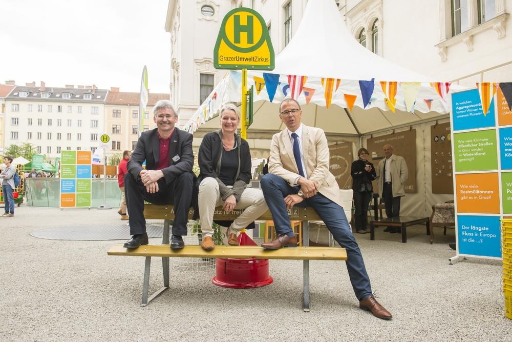 GrazerUmweltZirkus 2015.  Photo: Stadt Graz / Foto Fischer