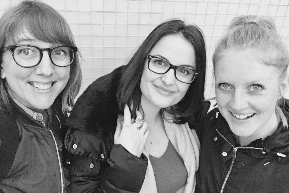 Josefin Herz Branzell, Nohadra Heido och Evelina Lundqvist