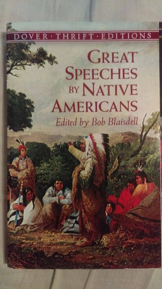great speeches by native americans dover thrift editions